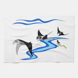 Manta Ray Towels