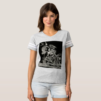Mantas Garden grey jersey T-shirt