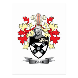 Manteau de Baker des bras Carte Postale