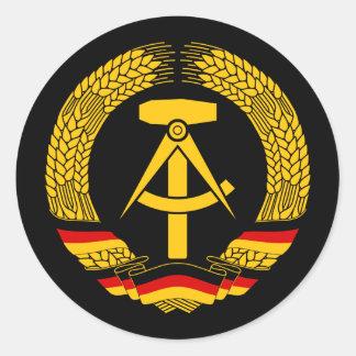 Manteau de l Allemagne de l Est des bras du joint Autocollants