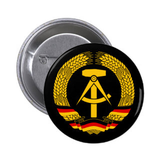 Manteau de l Allemagne de l Est des bras du joint Badge