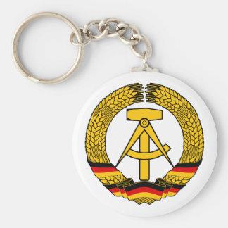 Manteau de l Allemagne de l Est des bras du joint Porte-clefs
