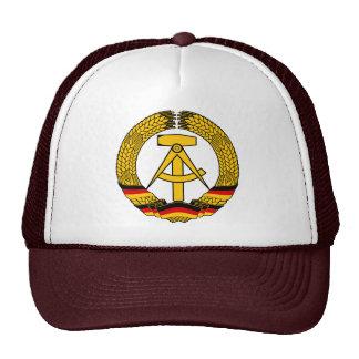 Manteau de l'Allemagne de l'Est des bras/du joint  Casquettes De Camionneur