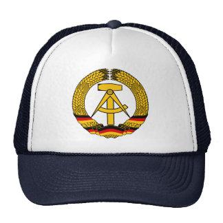 Manteau de l'Allemagne de l'Est des bras/du joint  Casquettes