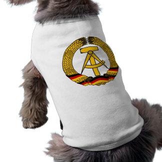 Manteau de l'Allemagne de l'Est des bras/du joint  Vêtements Pour Animaux Domestiques