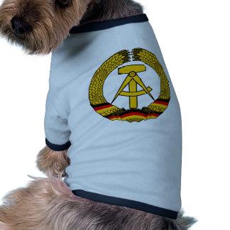 Manteau de l'Allemagne de l'Est des bras/du joint  Manteau Pour Animal Domestique
