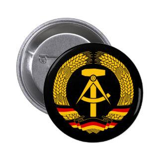 Manteau de l'Allemagne de l'Est des bras/du joint  Macaron Rond 5 Cm