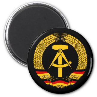 Manteau de l'Allemagne de l'Est des bras/du joint  Magnet Rond 8 Cm