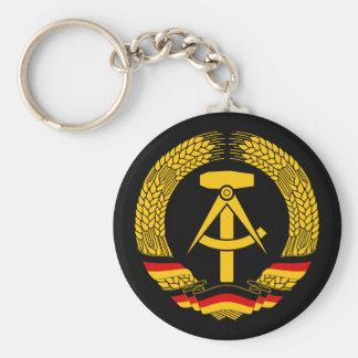 Manteau de l'Allemagne de l'Est des bras/du joint  Porte-clé