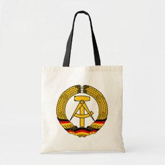 Manteau de l'Allemagne de l'Est des bras/du joint  Sacs De Toile