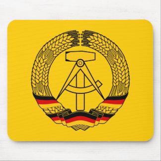 Manteau de l'Allemagne de l'Est des bras/du joint  Tapis De Souris
