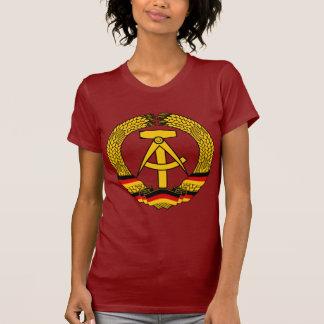 Manteau de l'Allemagne de l'Est des bras/du joint Tee Shirt