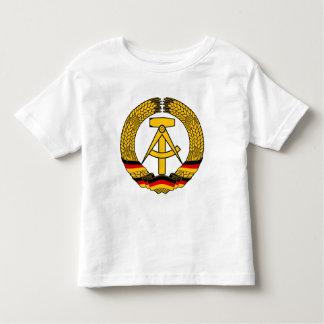 Manteau de l'Allemagne de l'Est des bras/du joint Tee Shirts
