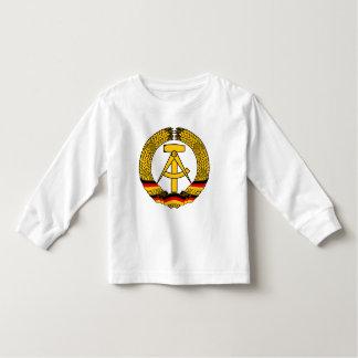 Manteau de l'Allemagne de l'Est des bras/du joint Tshirts