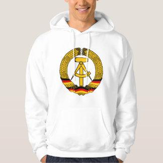 Manteau de l'Allemagne de l'Est des bras/du joint Veste À Capuche
