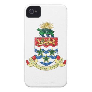 Manteau des Îles Caïman des bras Coque iPhone 4 Case-Mate