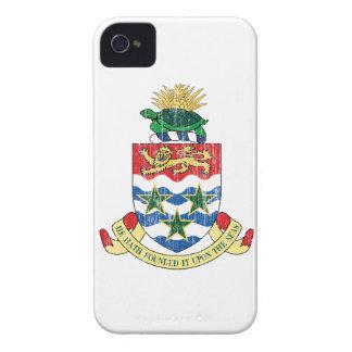Manteau des Îles Caïman des bras Coques iPhone 4 Case-Mate