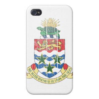 Manteau des Îles Caïman des bras Coque iPhone 4/4S