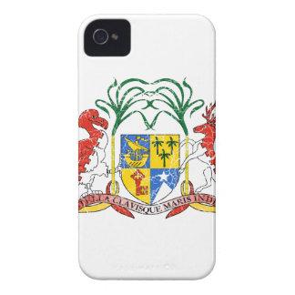 Manteau des Îles Maurice des bras Coque iPhone 4 Case-Mate