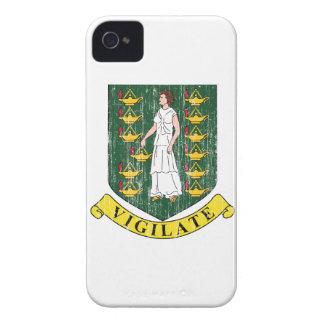 Manteau des Îles Vierges britanniques des bras Coque Case-Mate iPhone 4