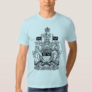 Manteau du Canada des bras - crête du Canada Tshirts