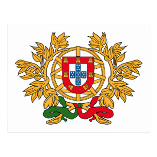 Manteau du Portugal de carte postale de bras