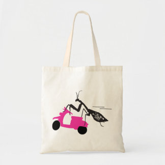 Mantis on a Moped Budget Tote Bag