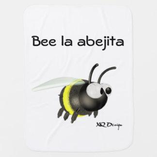 Mantita of Bee baby 1 face Receiving Blankets