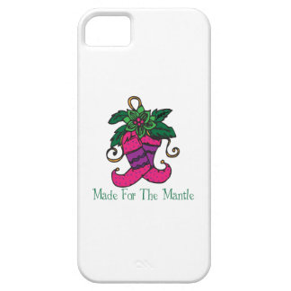 Mantle Stocking iPhone 5/5S Cases