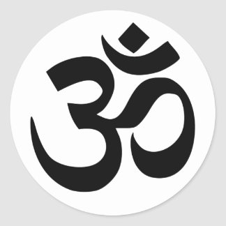 Mantra Om Sticker