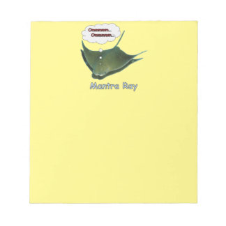 Mantra Ray Notepad