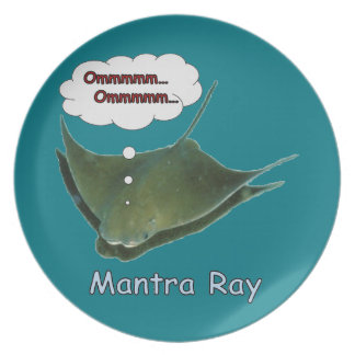 Mantra Ray. Plate