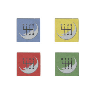 MANUAL Transmission - COLORS Stone Magnets