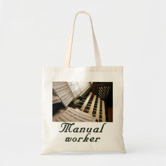 Manual Worker budget tote