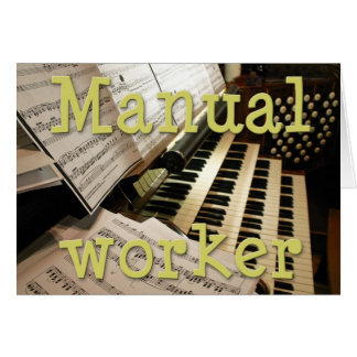 Manual worker card