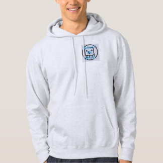 Manuel The Squid YT Ash Grey Hoodie