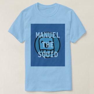 Manuel The Squid YT Light blue T-Shirt