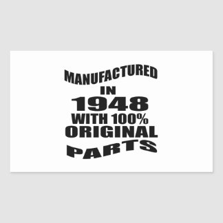 Manufactured  In 1948 With 100 % Original Parts