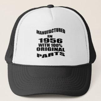 Manufactured  In 1956 With 100 % Original Parts Trucker Hat