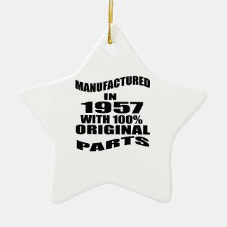 Manufactured  In 1957 With 100 % Original Parts Ceramic Ornament