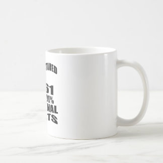 Manufactured  In 1961 With 100 % Original Parts Coffee Mug