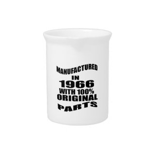 Manufactured  In 1966 With 100 % Original Parts Pitcher