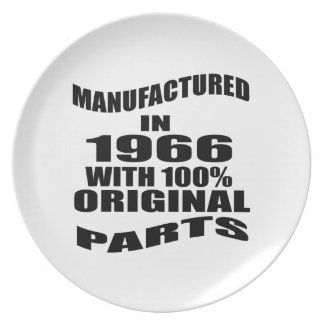 Manufactured  In 1966 With 100 % Original Parts Plate