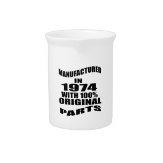 Manufactured  In 1974 With 100 % Original Parts Pitcher