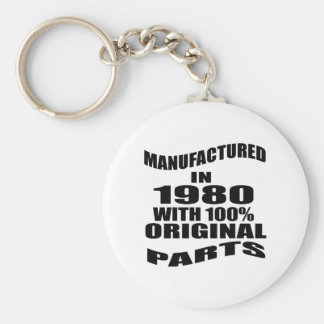 Manufactured  In 1980 With 100 % Original Parts Keychain