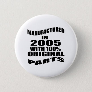 Manufactured  In 2005 With 100 % Original Parts 2 Inch Round Button
