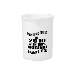 Manufactured  In 2010 With 100 % Original Parts Pitcher