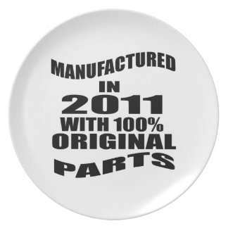 Manufactured  In 2011 With 100 % Original Parts Plate