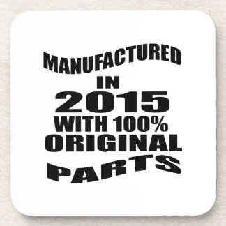 Manufactured  In 2015 With 100 % Original Parts Coaster