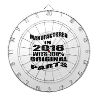 Manufactured  In 2016 With 100 % Original Parts Dartboard